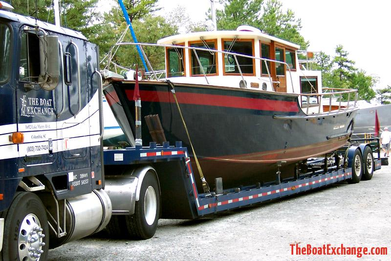 35 ft. Trawler Transported to Georgetown