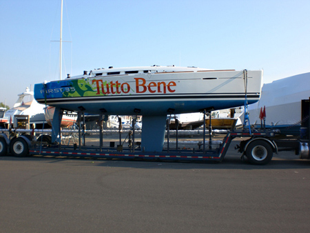 Beneteau First 35 Tutto Bene - Factory Race Boat