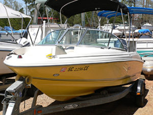 2007 Searay 175 Bowrider Boat