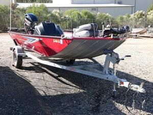 2017 Crestliner 1700 Storm Fishing Boat